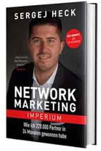 "Cover ""Network Marketing Imperium"" von Sergej Heck"